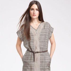 EUC Max Mara Gabarra Tribal Print Silk Dress, S